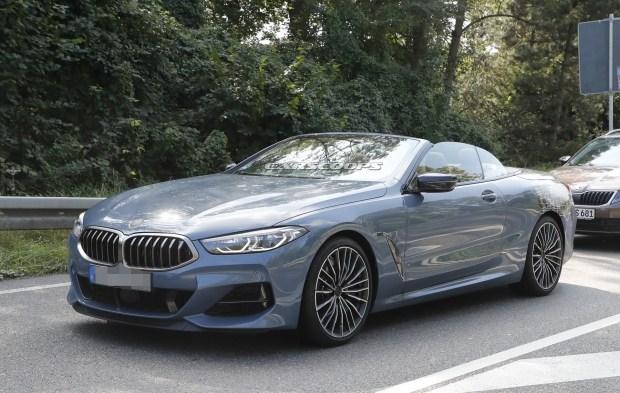 BMW 8-Series Cabriolet лишился практически всего камуфляжа 1