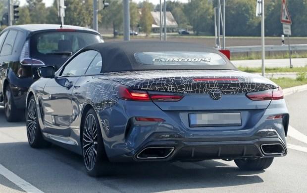 BMW 8-Series Cabriolet лишился практически всего камуфляжа 2