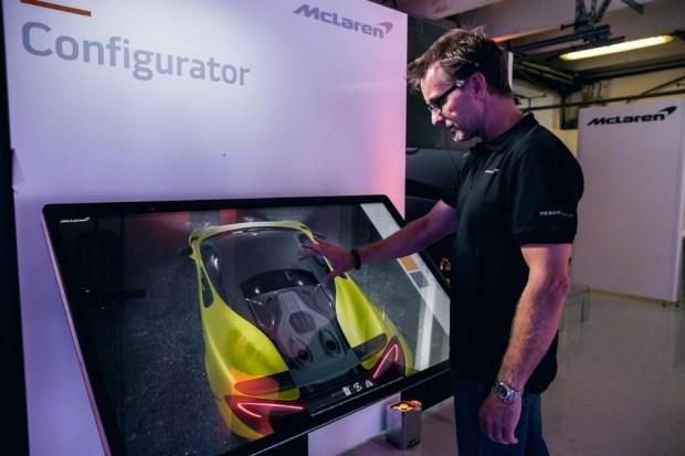 McLaren предложил создать идеальный суперкар с помощью 4K-конфигуратора 1