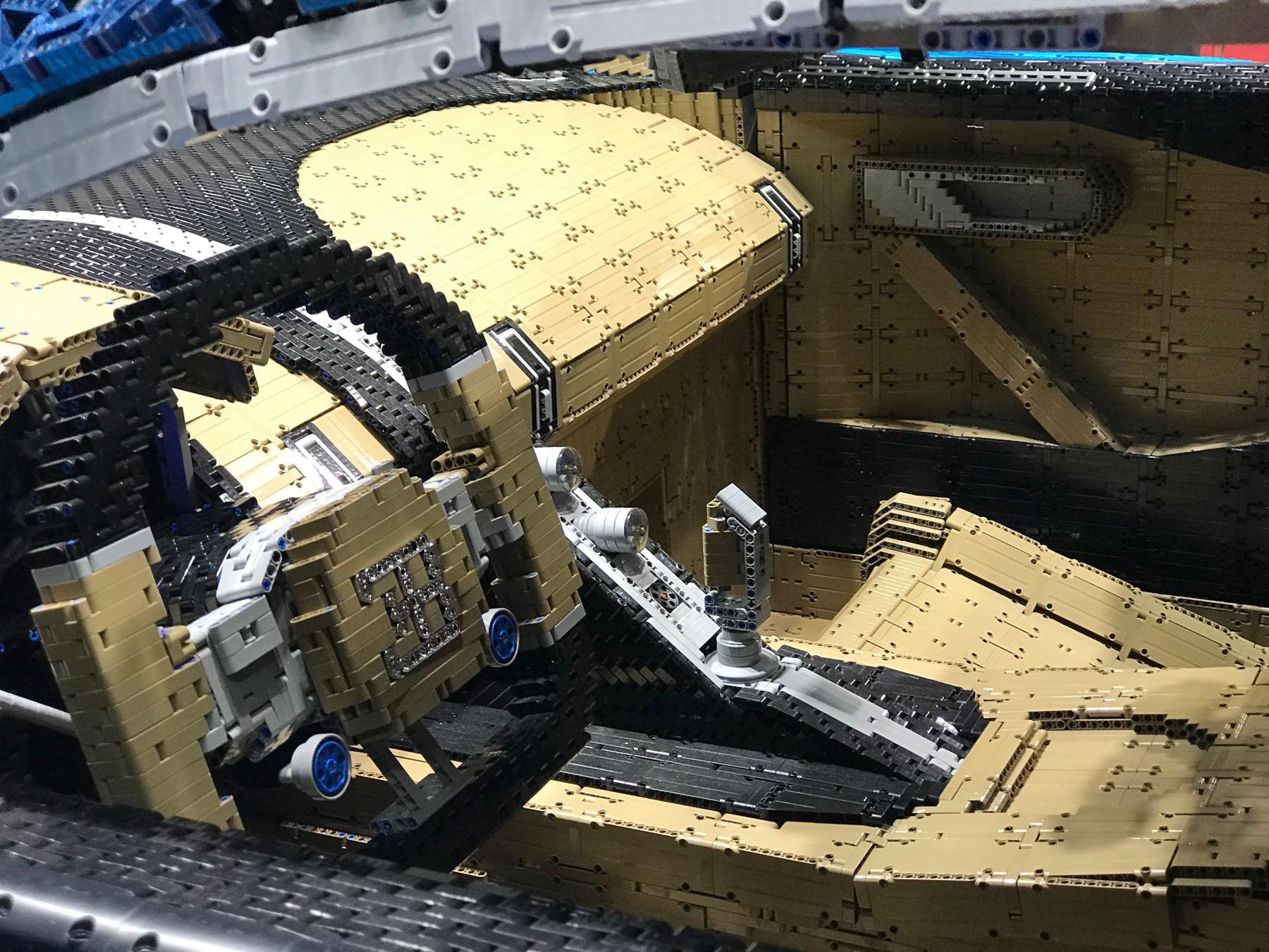 Lego показала свою самую крутую модель 3