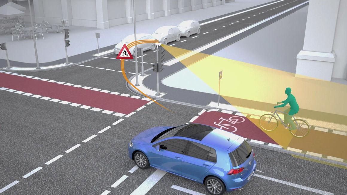 Volkswagen и Siemens сделают перекрестки безопасными 1