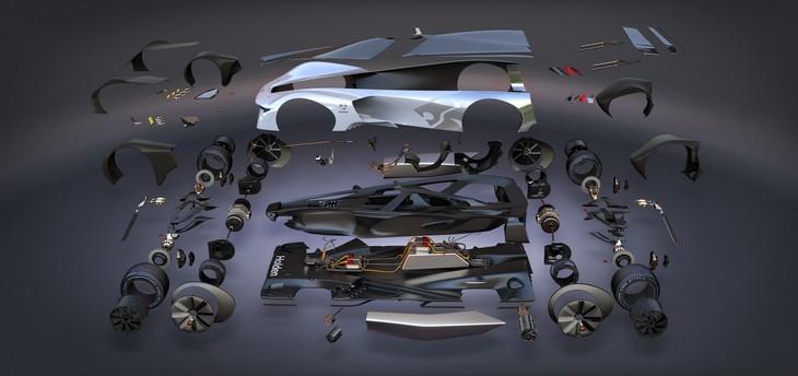 Holden разработал 1341-сильный суперкар 2