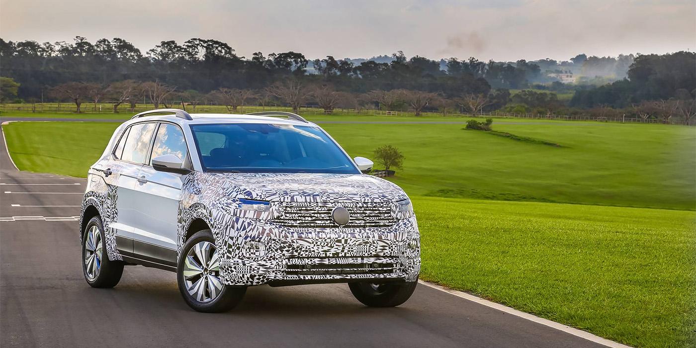 Volkswagen назвал дату премьеры нового кроссовера T-Cross 1