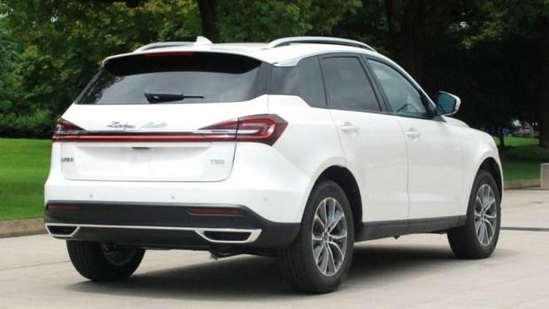 Кроссовер Zotye T600 нового поколения готовится к выходу на рынок 2