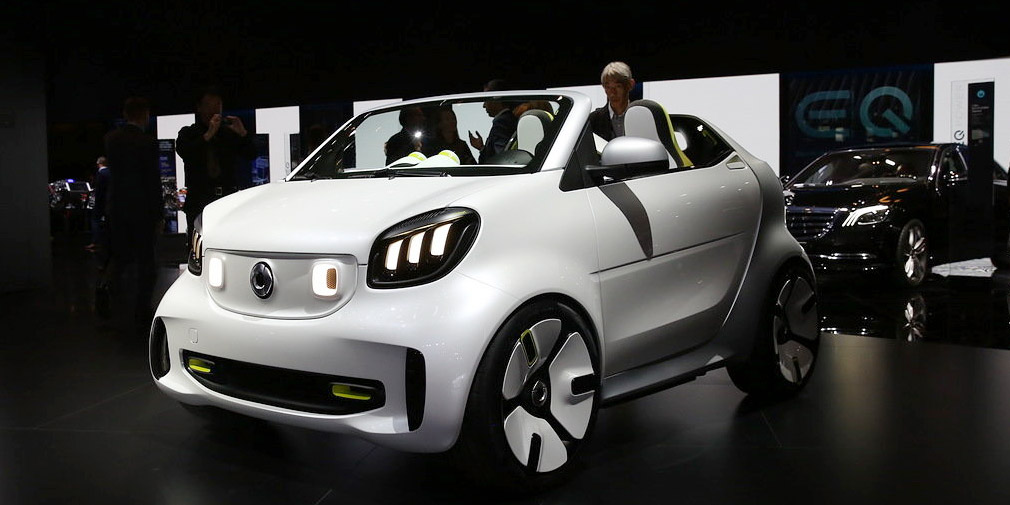 Smart представил электрокар без крыши и боковых стекол 2