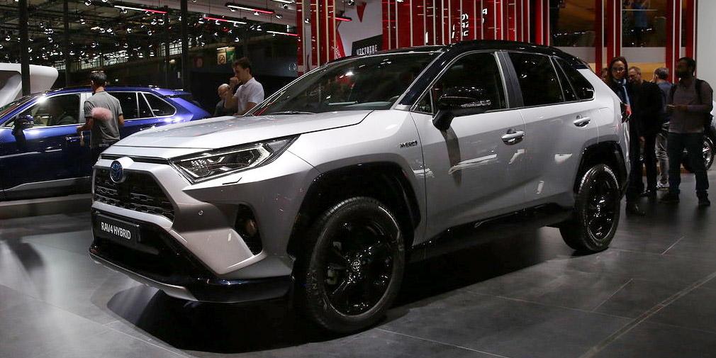 Новый Toyota RAV4 остался без дизельного мотора в Европе 1
