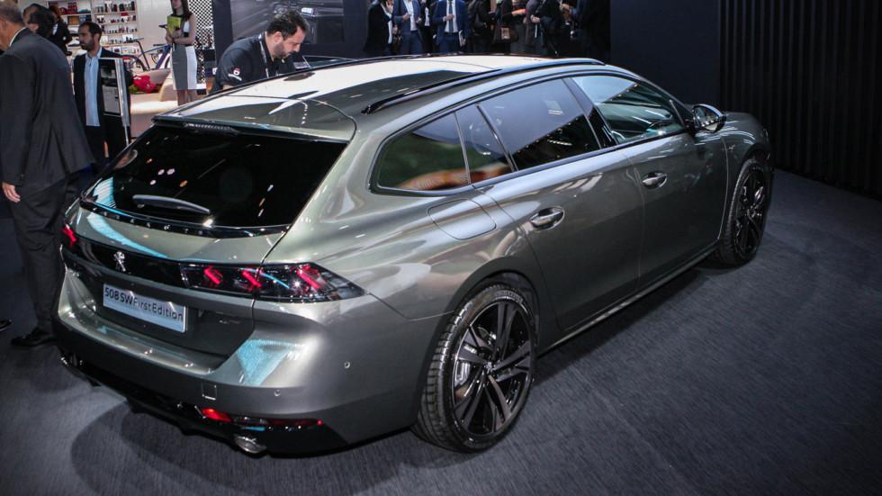 Новый универсал Peugeot 508 стартует в Европе с дорогой версии 2