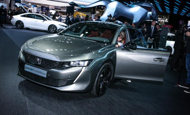 Новый универсал Peugeot 508 стартует в Европе с дорогой версии 1