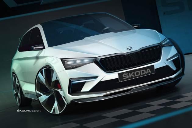 Skoda рассекретила конкурента VW Golf GTI 1