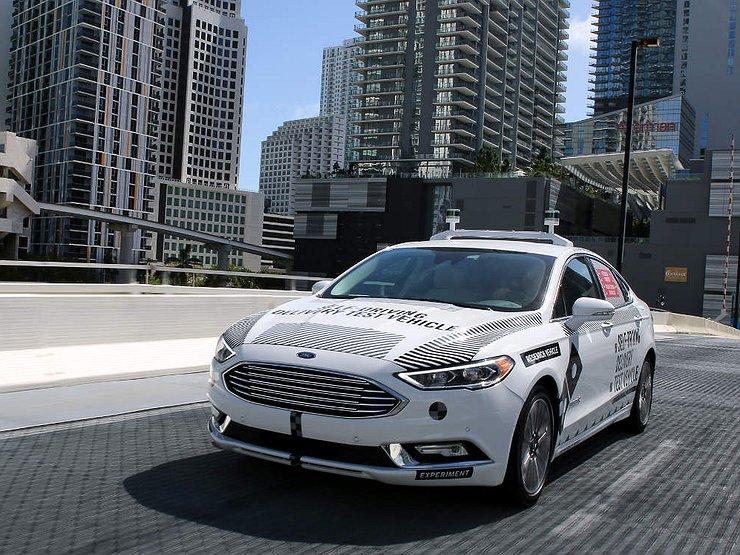 Зачем объединяются Ford и Uber 1