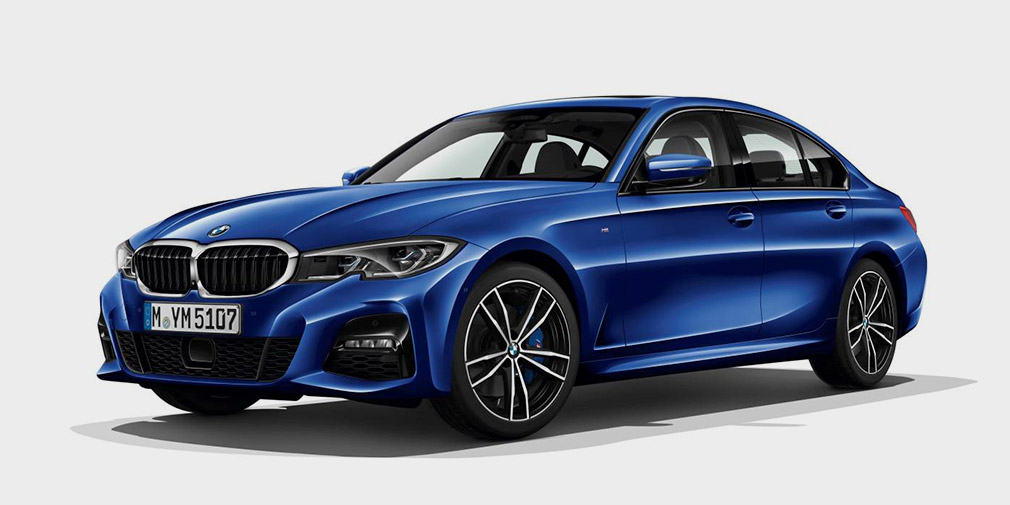 Внешность новой BMW 3-Series раскрыли в конфигураторе 1