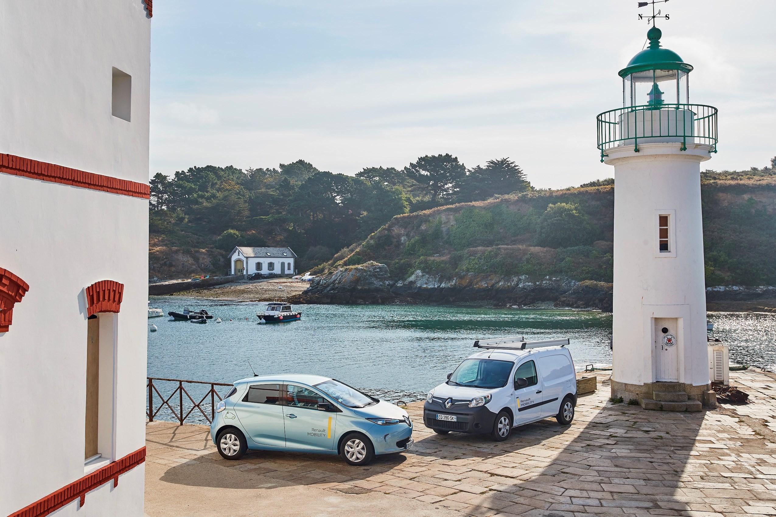 Renault создаст умную электрическую экосистему на французском острове 1