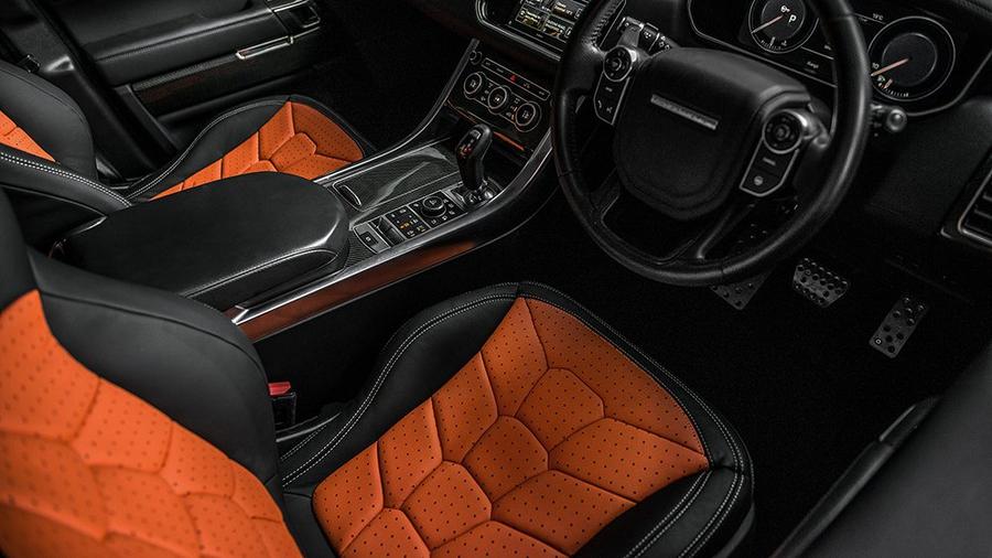 Тюнеры из Kahn Design доработали внедорожник Range Rover Sport SVR 2