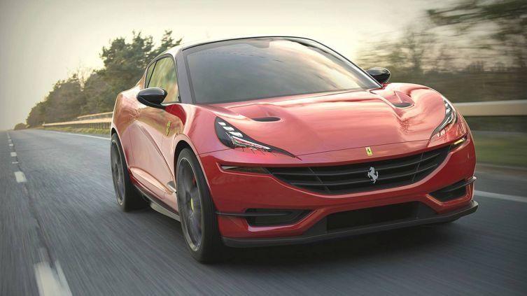 Каким будет первый кроссовер Ferrari 3