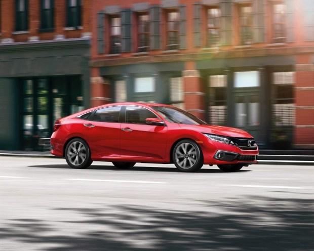 Honda представила обновленный Civic 1