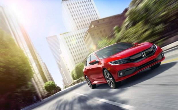 Honda представила обновленный Civic 2