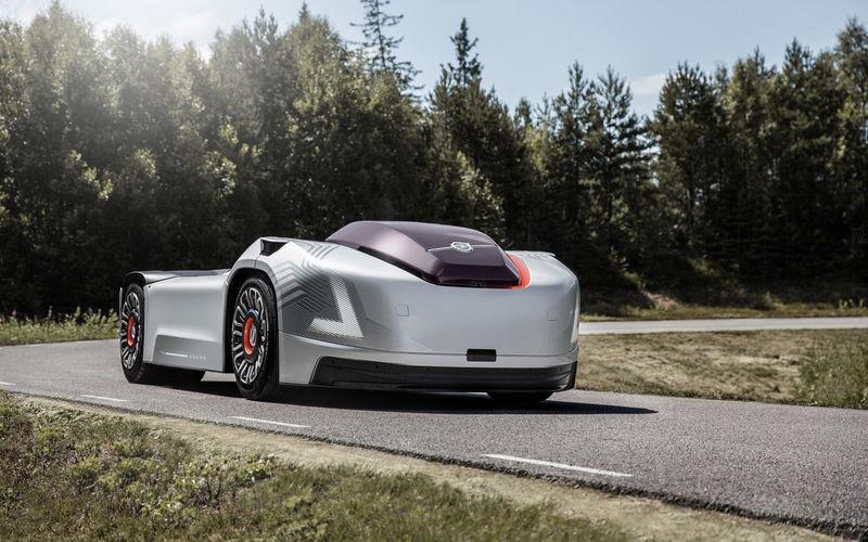 Volvo и Hyundai показали грузовики будущего 3