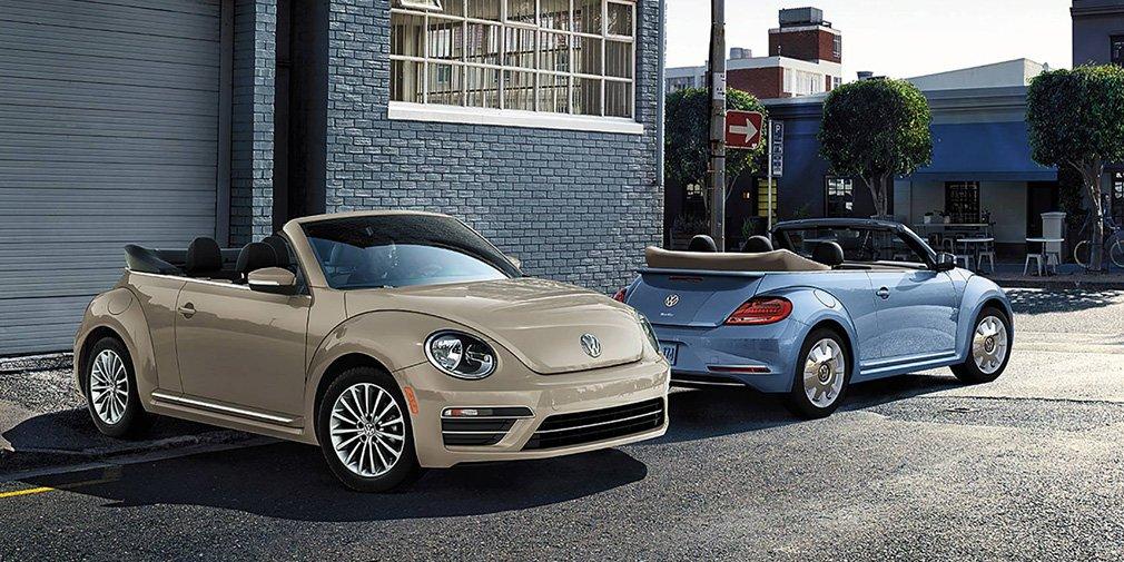 Volkswagen представил прощальную версию Beetle 1