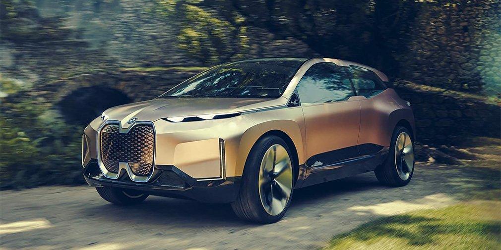 Дизайн нового электрического кроссовера BMW рассекретили до премьеры 1