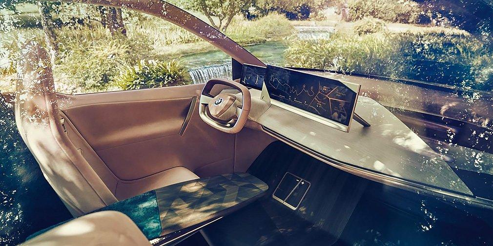 Дизайн нового электрического кроссовера BMW рассекретили до премьеры 2