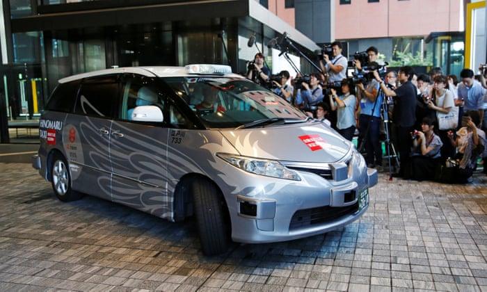 Первое в мире беспилотное такси вышло на маршрут  1