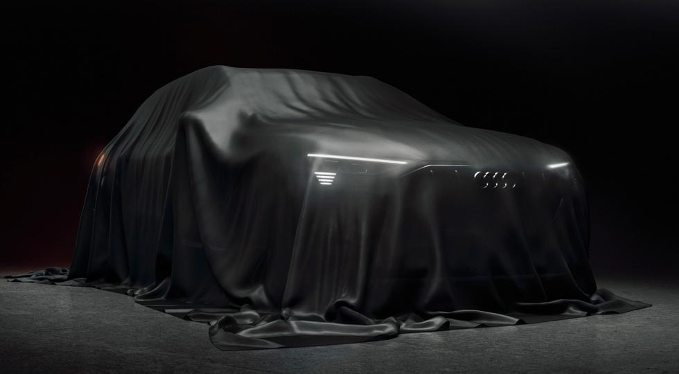 Audi опубликовала новое изображение серийного электрокросса 1
