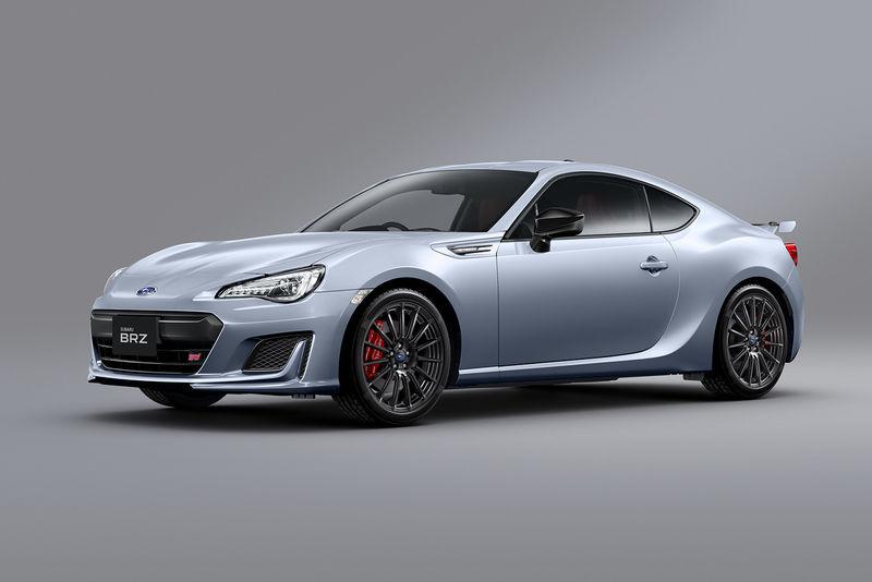 Subaru улучшила купе BRZ 1