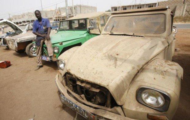 «Типовые СТО» для машин в Африке 1
