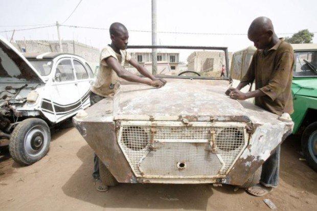 «Типовые СТО» для машин в Африке 2