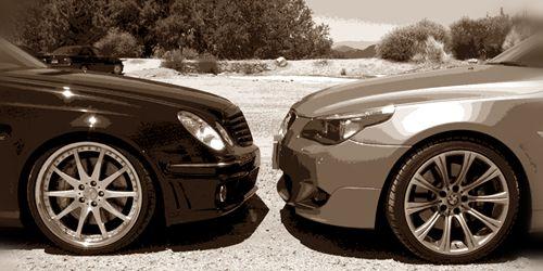 «Мерседес-Benz угощает сотрудников БМВ» в честь 100-летия бренда 1