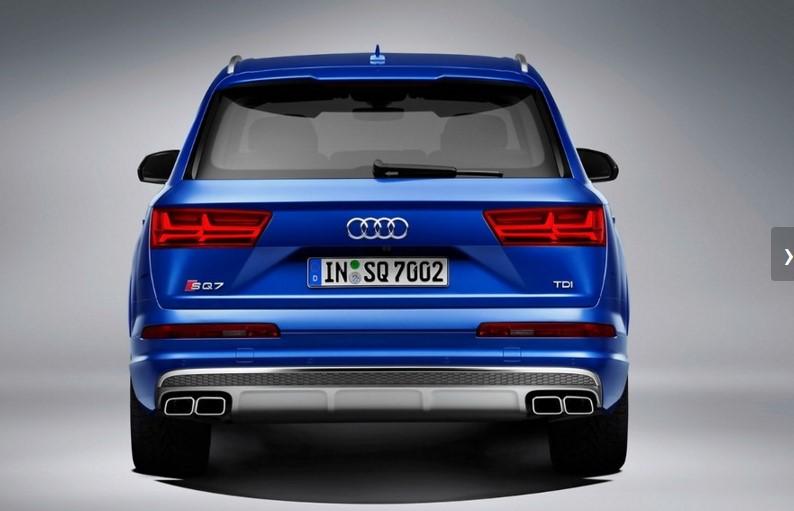 Audi представила «заряженный» SQ7 с электрическим наддувом 4