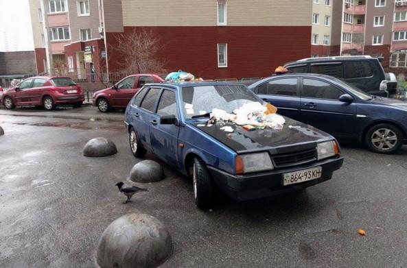 В Украине растет число «героев парковки» 1