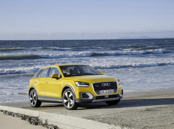 Audi представила свой «самый маленький» кроссовер 1
