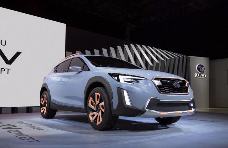 Компания Subaru «показала новую модель» 2