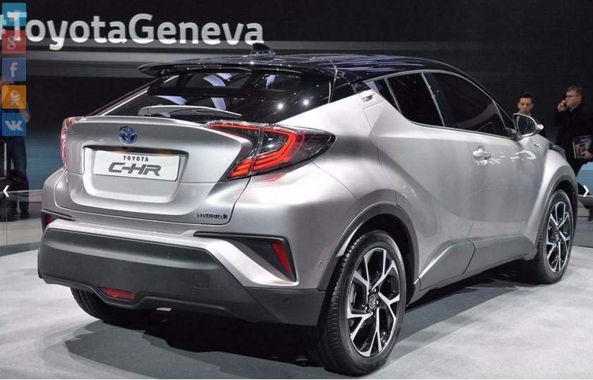 Toyota C-HR «готова к производству» 2