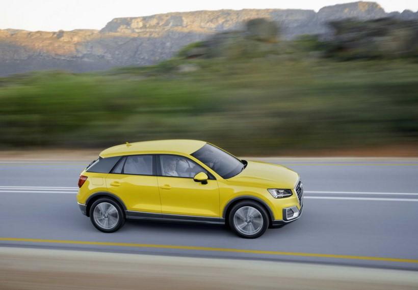 Audi представила свой «самый маленький» кроссовер 2
