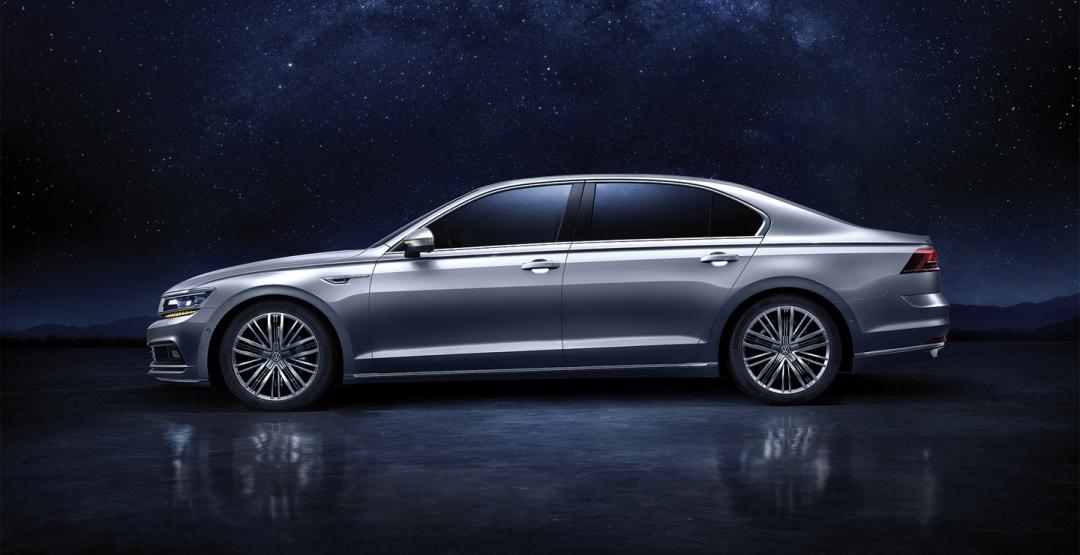 Фольксваген представил новый «роскошный» седан 2
