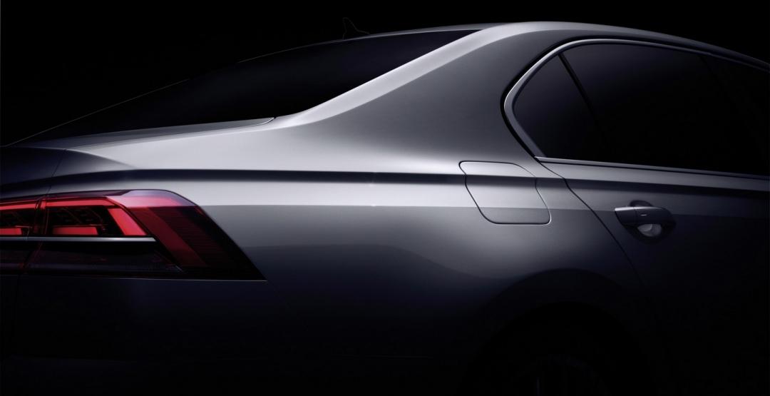 Фольксваген представил новый «роскошный» седан 1