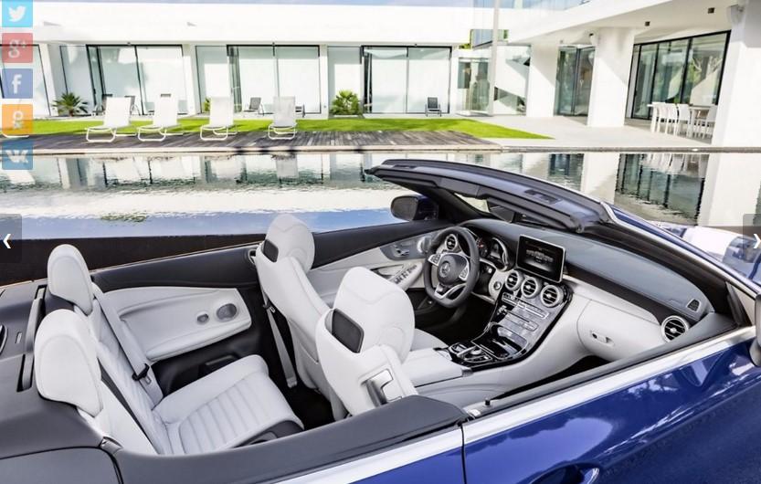 Mercedes представил открытую версию нового C-Class 3