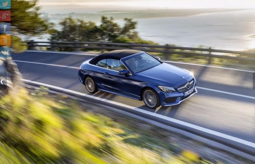 Mercedes представил открытую версию нового C-Class 1