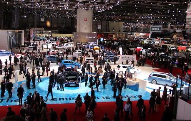 В Женеве начал работу 86-й международный автомобильный салон 2