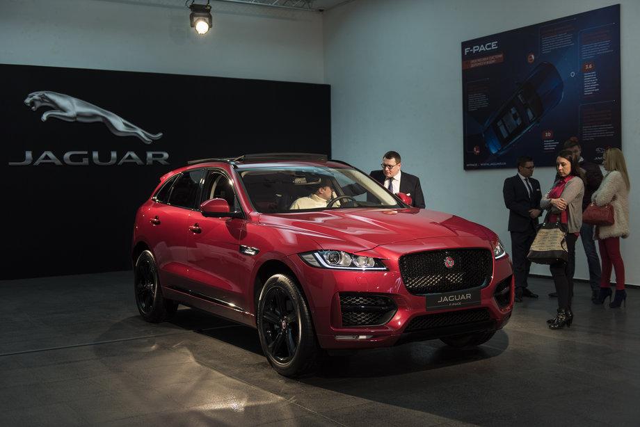 В Украине прошла презентация Jaguar F-Pace 2