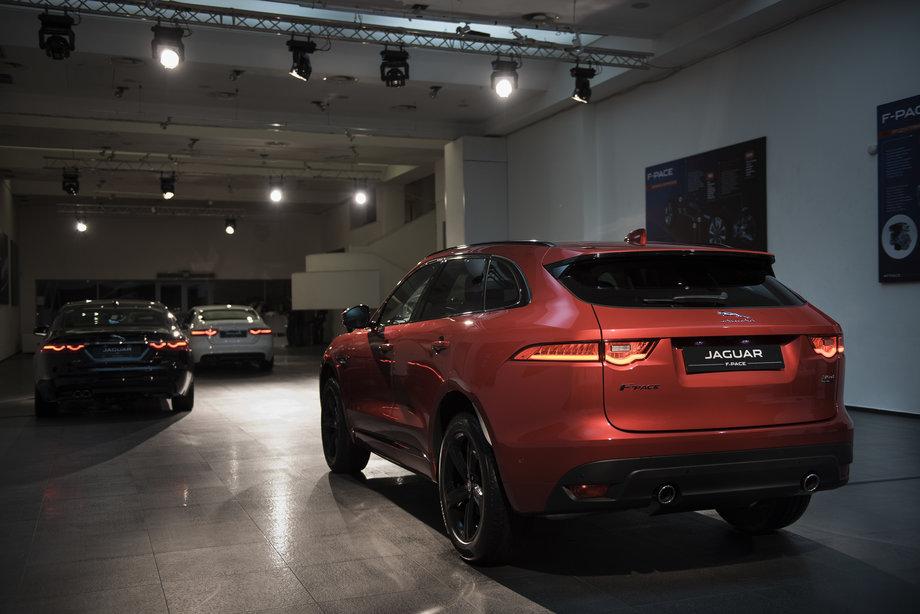 В Украине прошла презентация Jaguar F-Pace 3