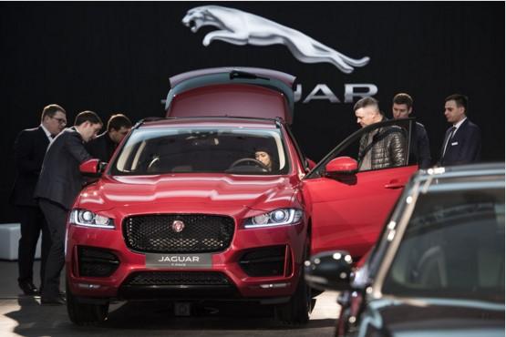 В Украине прошла презентация Jaguar F-Pace 1