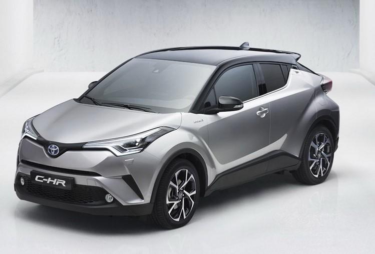 Компания Toyota «показала» новый кроссовер C-HR 2