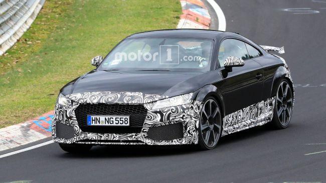 Презентация обновленного Audi TT все ближе 1