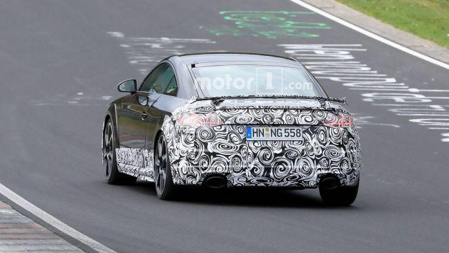 Презентация обновленного Audi TT все ближе 2
