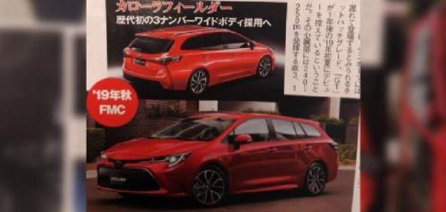 В Сеть «просочились» первые изображения двух новинок Toyota 3