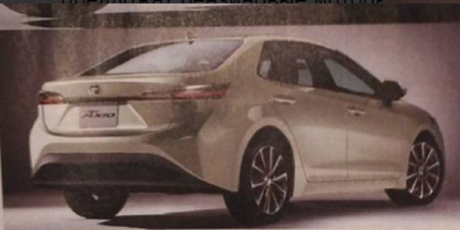 В Сеть «просочились» первые изображения двух новинок Toyota 2