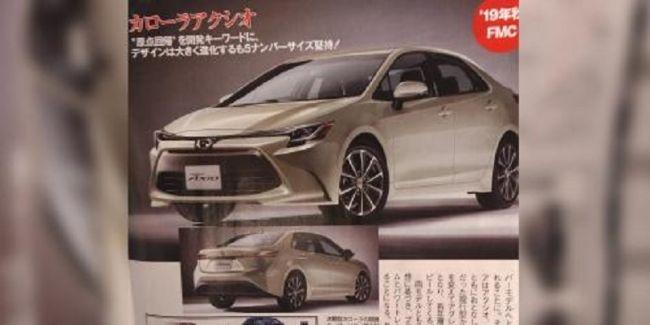 В Сеть «просочились» первые изображения двух новинок Toyota 1